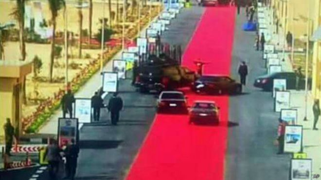 Gara-Gara Karpet Merah, Presiden Ini Dikecam