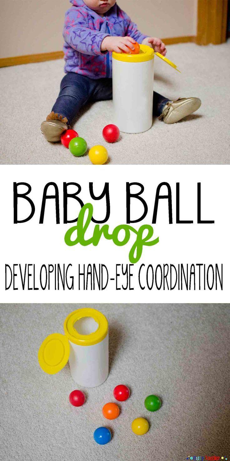 Colour activities babies - Baby Ball Drop