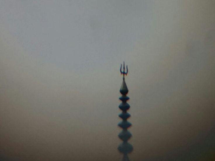 Nainital Temple Telescopic view
