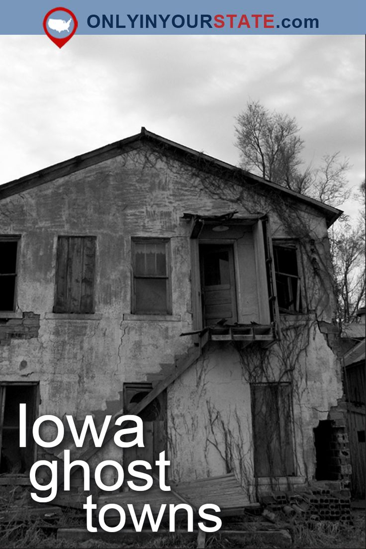 Travel | Iowa | Attractions | Haunted US | Ghost Towns | Abandoned Places | Things To Do | Paranormal Activity | Ghost Stories | Scary | Places To Visit | Day Trips | Haunted Road Trip | Real Haunted Places | Ruins | Deserted | Haunted Towns | Iowa Ghost Towns