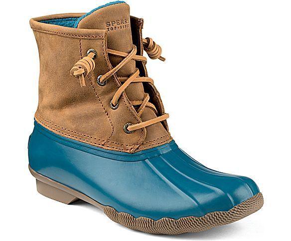 womenu0027s saltwater duck boot u2013 rain boots sperry - Duck Rain Boots