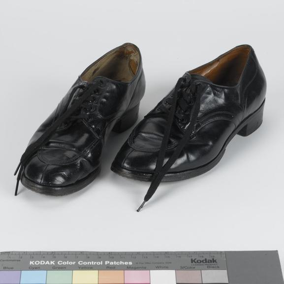 Shoes black leather 1939 pattern ORs WAAF (UNI 5584)