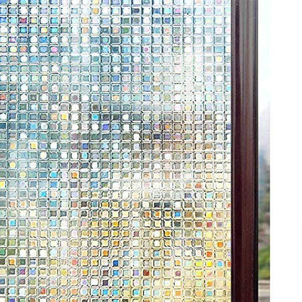Rabbitgoo 窓 めかくしシート ガラス 窓用 フィルム 目隠し 遮光 断熱