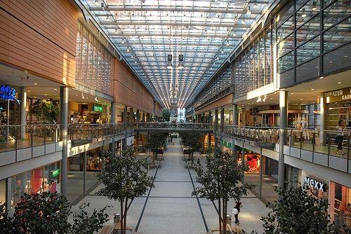 Modernos centros comerciales de Berlín