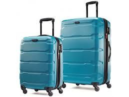 the baggage square measure fabricated from light-weight polycarbonate that build them way lighter than ancient luggages in comparable sizes. Polycarbonate could be a a lot of sturdy material than ABS. it's several of identical characteristics as metal. to form it higher, the Winfield two Fashion HS comes with a ten year restricted pledge from Samsonite.