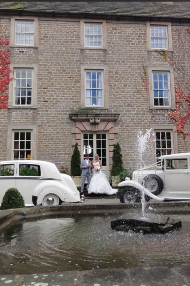 Picture perfect grounds @ Headlam Hall Hotel. Darlington.
