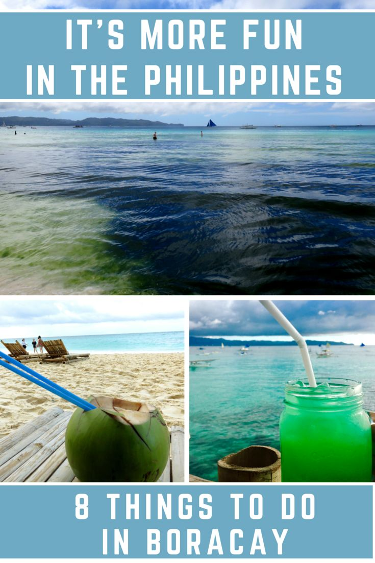It's More Fun in the Philippines: 8 Things to Do in Boracay! #travel #travelblog #Asia #traveltips #adventure #vacationideas