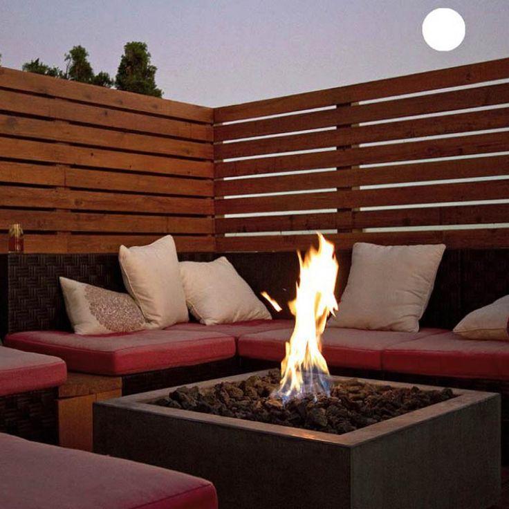1000 ideas about modern fire pit on pinterest modern for Modern outdoor gas fire pit