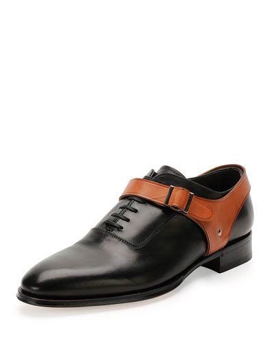 Mens Oxford Shoes, Wing Tip Shoes & Cap Toe Shoes | Neiman Marcus. Not sure if i would wear it, with colours flipped i would though.