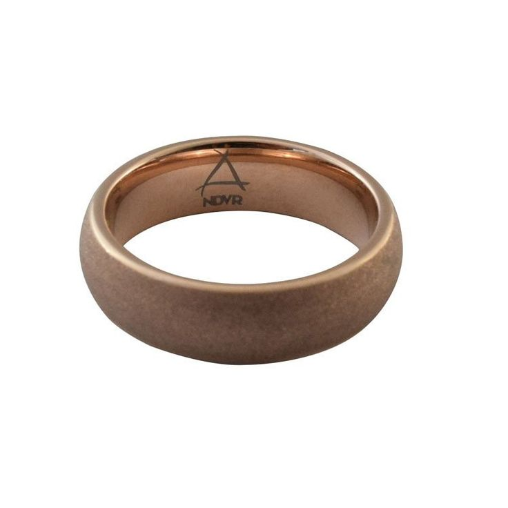NDVR Tungsten Ring Rose Gold