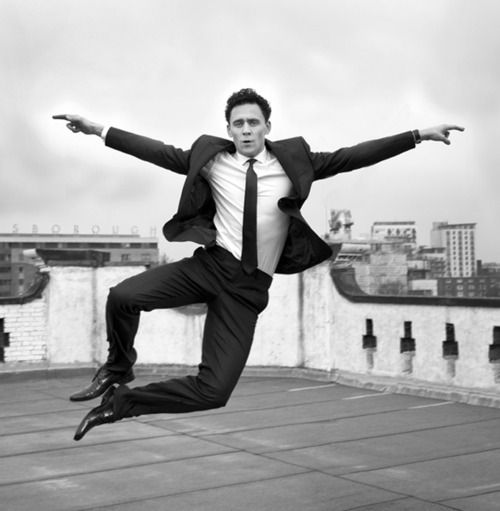Who is more fun than Tom Hiddleston really? :)