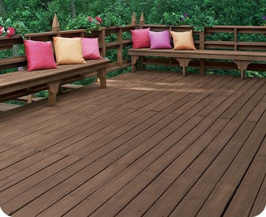 deck over paint colors | image} How gorgeous is this TWF-SEMI Dusty Trail deck?!