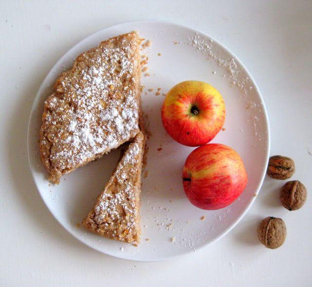 Jablečník bez mouky a vajec