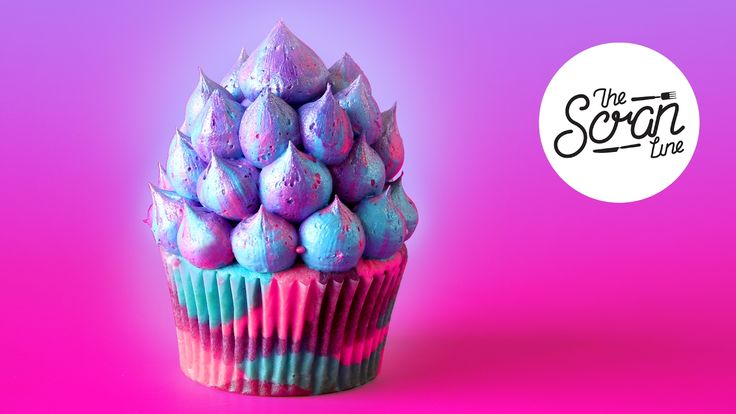 UNICORN CUPCAKES - The Scran Line