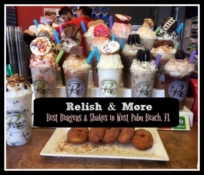 Relish & More is a restaurant offering the best burgers and shakes in West Palm Beach, Florida. Be sure to save room for their epic milkshakes, too.
