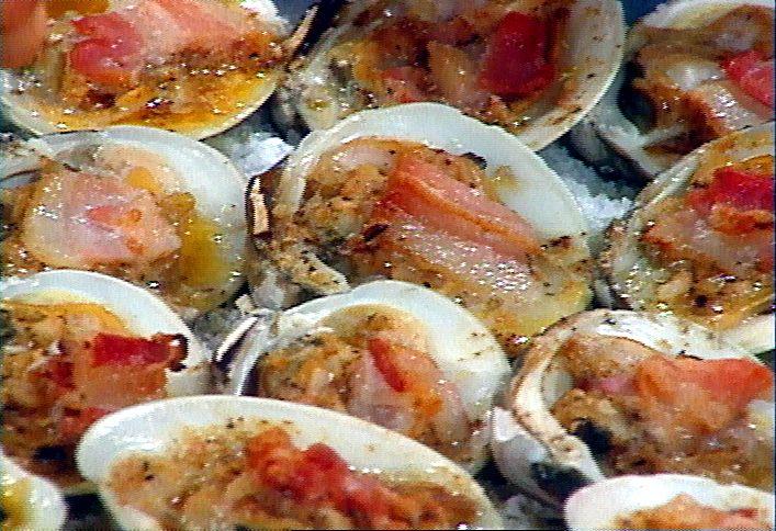 Clams Casino Royal Recipe : Rachael Ray : Food Network - FoodNetwork.com