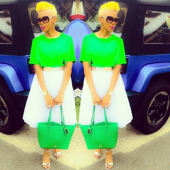 Nhlanhla Nciza Fashion and Style Icon