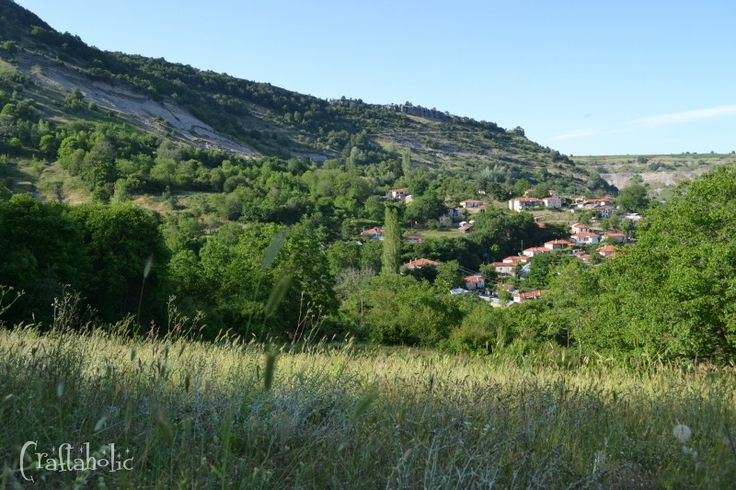 Every summer on August 15th, which is a big holiday here in Greece, we visit my mom's village. Breathtaking view, peacuful place, perfect for resting!
