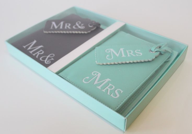 Mr and Mrs passport covers, Luggage Tags Wedding gift honeymoon Bridal present by JRBoutiques on Etsy https://www.etsy.com/listing/236373916/mr-and-mrs-passport-covers-luggage-tags