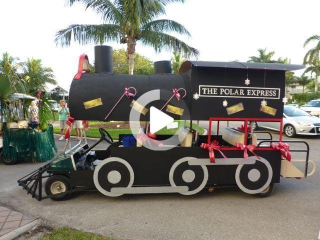 Winner Captiva Golf Parade Christmas Parade Floats Christmas Parade Christmas Golf