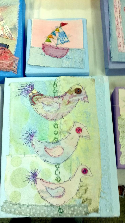 Chelford Embroiderers Guild: Priscilla Jones Workshop. 5th November 2011