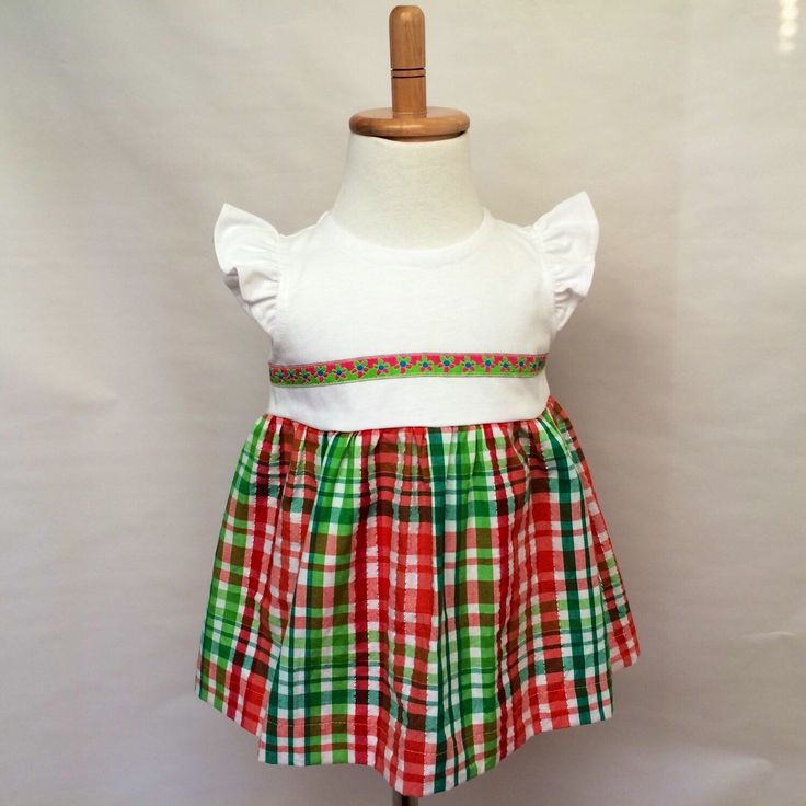 A personal favorite from my Etsy shop https://www.etsy.com/ca/listing/258655478/cotton-t-shirt-plaid-dress