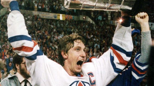 Wayne Gretzky -  Still the greatest Hockey Player to have played in the game of Ice Hockey. Holder to 60+ NHL records!