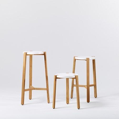 Happy barstol hög - Happy barstol hög - svart, ekben