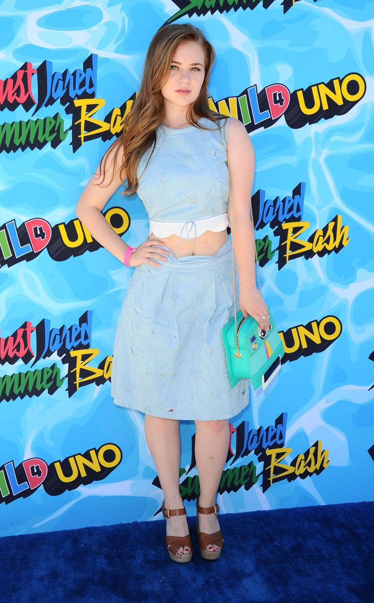 SIERRA MCCORMICK at 4th Annual Just Jared Summer Bash in Beverly Hills…