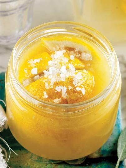Limon turşusu Tarifi - Türk Mutfağı Yemekleri - Yemek Tarifleri