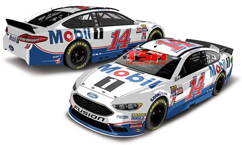 2017 CLINT BOWYER #14 MOBIL 1  (FORD FUSION)