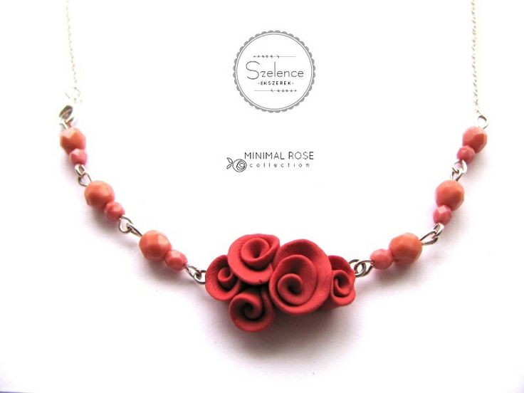 MINIMAL ROSE necklace Cayenne