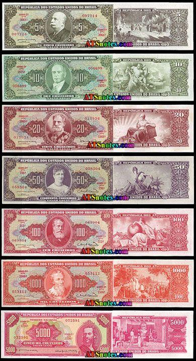 79 best CEDULAS DE CRUZEIRO images on Pinterest | Money, Banknote and Cruises