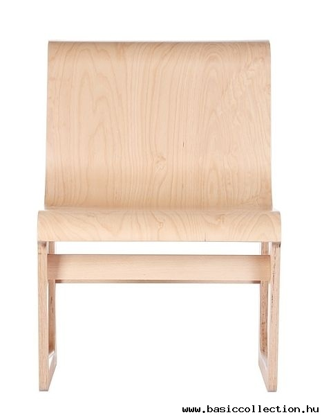 Basic Collection, Symposio bench #furniture #design #armchair #lounge #wood #natural