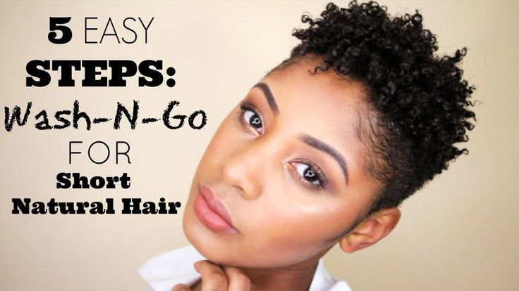5 Easy Steps: How To Wash & Go For Short Natural Hair