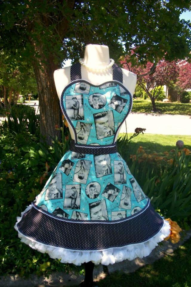 Elvis apron