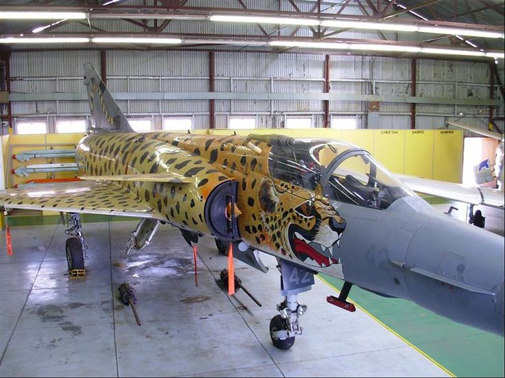 South African Air Force Cheetah