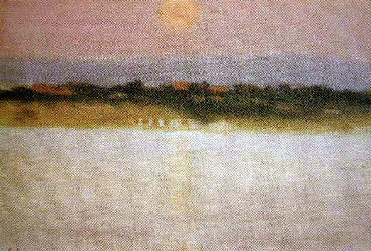 Sunset  Clarice Beckett