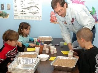 Soil is a filter- This is a hands on experiment that students can complete to focus on how soil is used as a filter in order for there to be clean water. The experiment uses grape Kool-aid to represent the different chemicals soil filter out of the water.