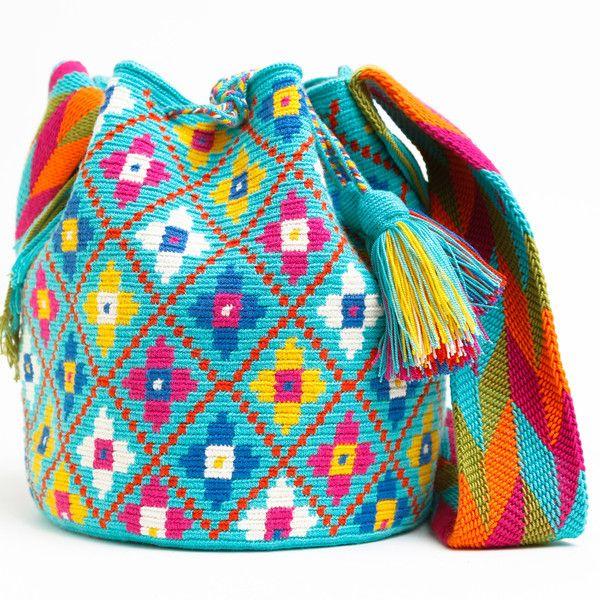 Mochilas | Handmade Bohemian Bags Mochilas made by the indigenous Wayuu of La Guajira, Colombia. International Shipping!