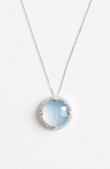 KALAN by Suzanne Kalan Stone & Sapphire Pendant Necklace | Nordstrom
