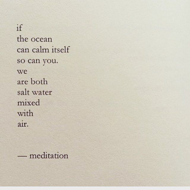 Salt water mixed with air