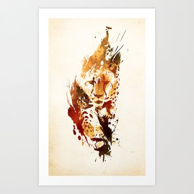 El Guepardo Art Print by Robert Farkas
