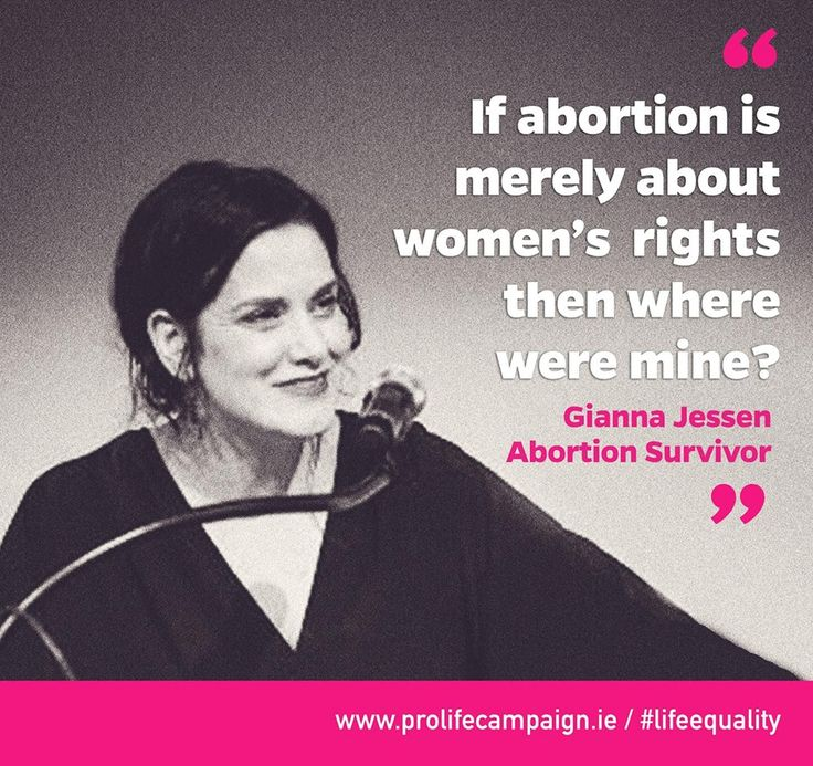 Gianna Jessen should have been aborted but survived! Please read this amazing woman's story.