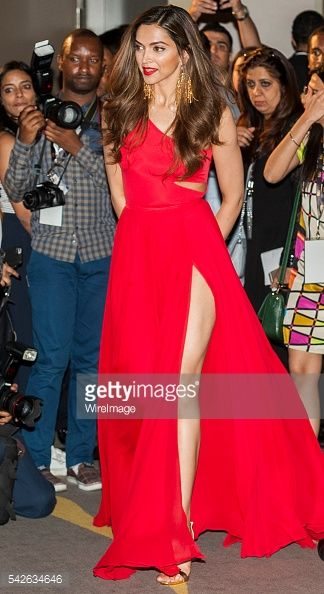 Indian actress Deepika Padukone attends the press conference for the 17th edition of IIFA Awards (International Indian Film Academy Awards) at the Palace Hotel on June 23, 2016 in Madrid, Spain.