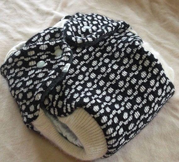 Super cute wool diaper cover!