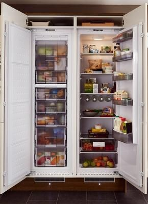 Lamona Integrated Full-Height Freezer and Lamona Integrated Full-Height Larder Fridge