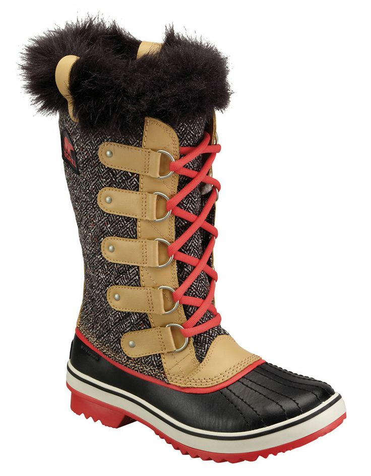 Tofino Herringbone Boot by Sorel, $200 | Hudson's Bay