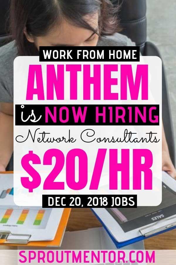 Legitimate Work From Home Jobs Hiring Now, December 20, 2018.