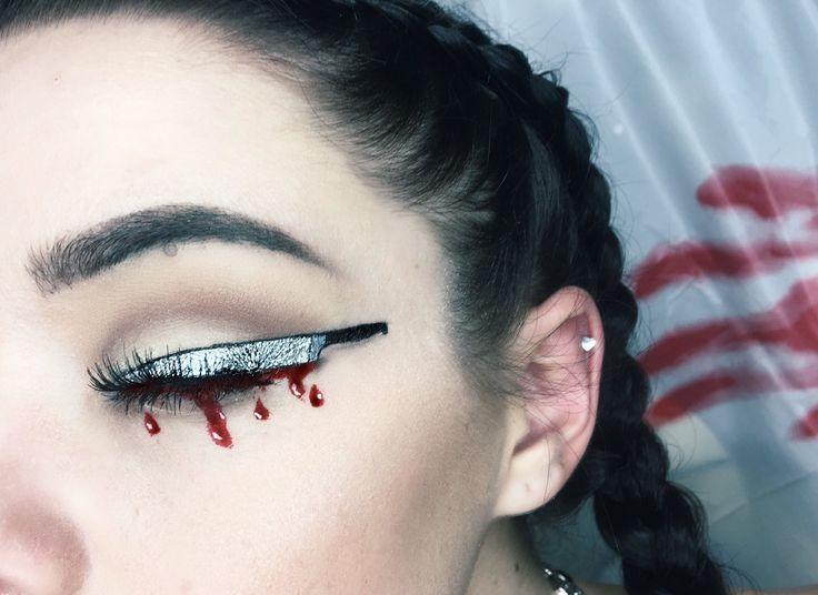 Knife Eye Makeup